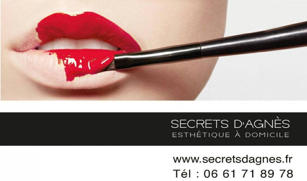 Secrets d'Agnès esthétique à domicile