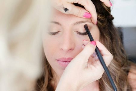 maquillage mariée; mariage